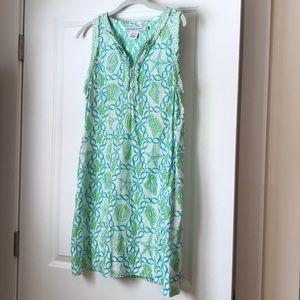 Gretchen Scott Nautical Sleeveless Dress